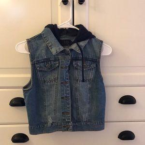 Jackets & Blazers - 5 for $25 Sleeveless Jean Jacket